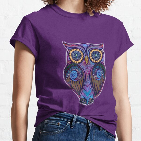 Ornate Owl 9 Classic T-Shirt