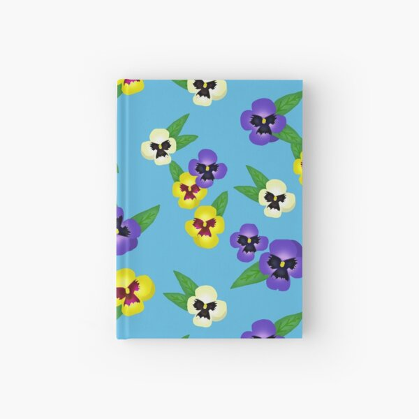Pansy / Johnny Jump up  Hardcover Journal