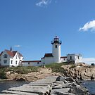 Eastern Point Lighthouse by Monnie Ryan
