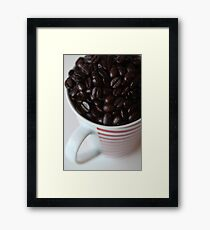 More Coffee .........??? Framed Print
