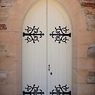 Church door near Kandos by fionapine