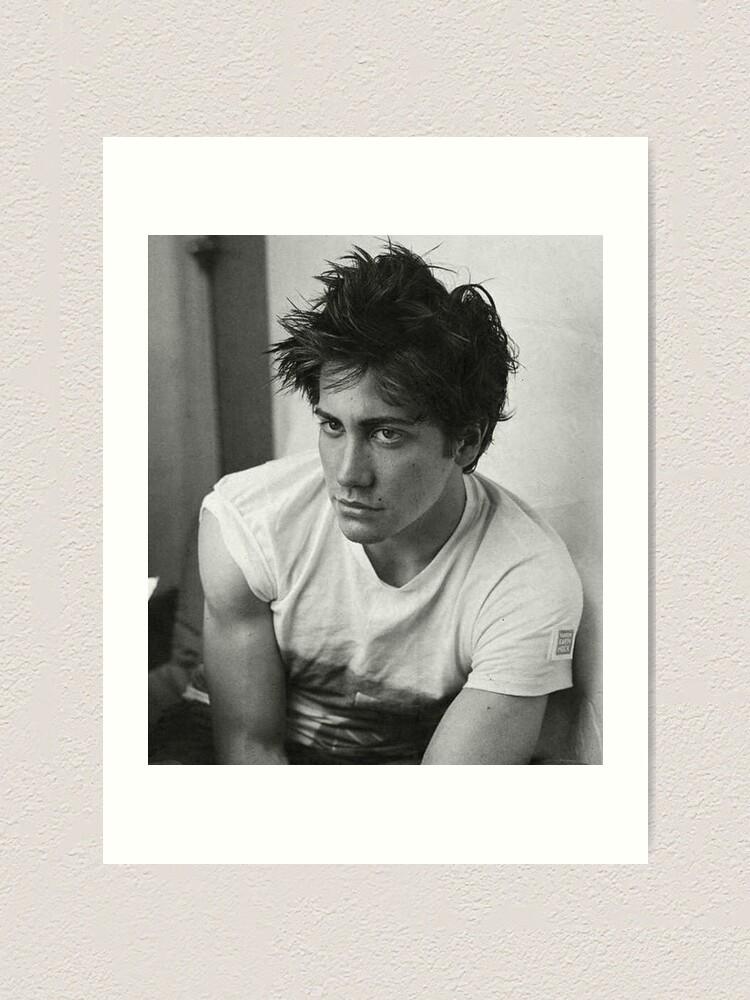 Jake Gyllenhaal Portrait Gicl\u00e9e Fine Art Print