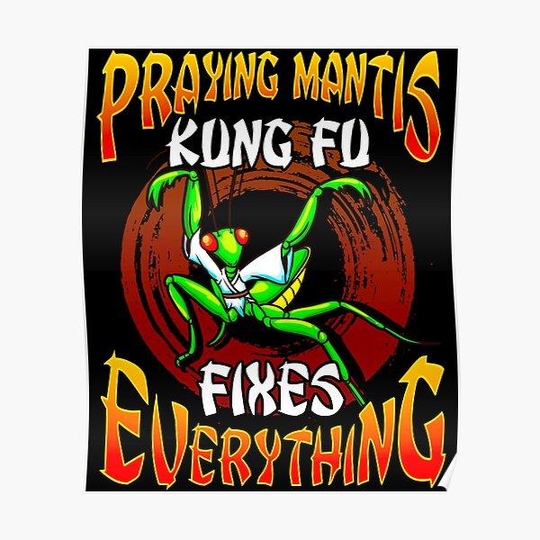 Kungfu Praying Mantis Poster