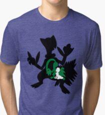 Treecko - Grovyle - Sceptile Tri-blend T-Shirt