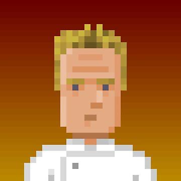 Chef Gordon Ramsay by pixelfaces