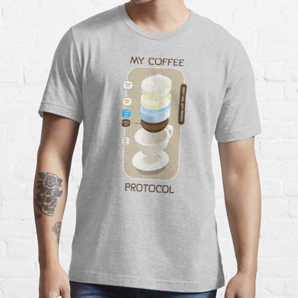 Coffee Protocol #03 Essential T-Shirt