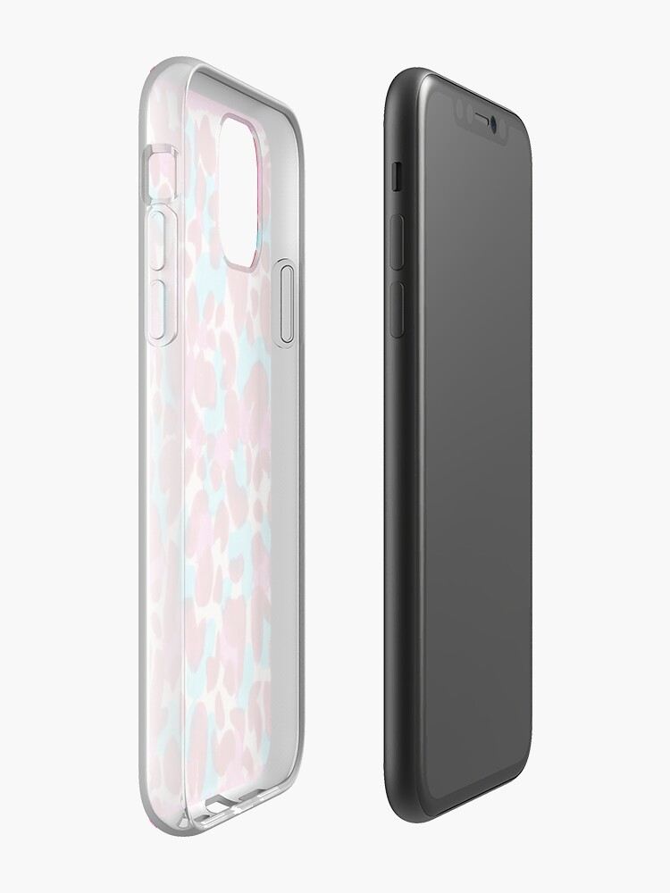coque iphone 11 bob l'éponge , Coque iPhone « Obsessive Mess Pink », par chantellerose92