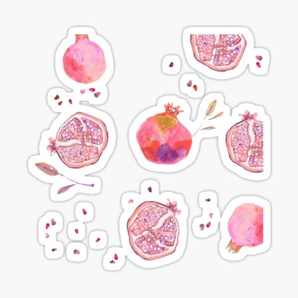Pomegranates II Sticker