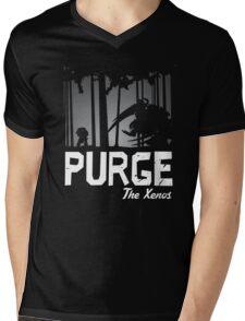 Purge the Xenos - Damaged Mens V-Neck T-Shirt