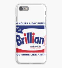 Brillo Brilliant (remembering Andy Warhol) iPhone Case/Skin