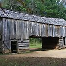 Barn - Cable Mill, Cades Cove Tennessee by Tony Wilder