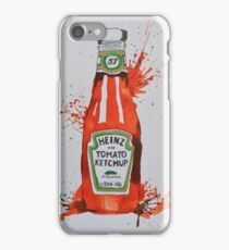 Heinz Tomato Ketchup Bottle iPhone Case/Skin