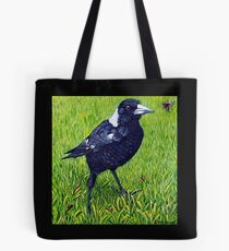 Friendly Magpie Tote Bag
