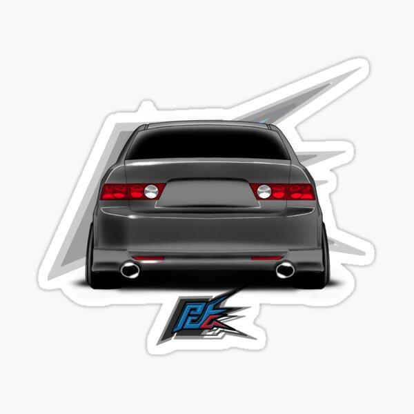 tsx cl9 rear gray Sticker