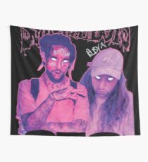 Suicideboys Signed Purple Haze Tapestry