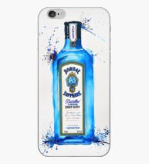 Bombay Sapphire Gin Bottle iPhone Case
