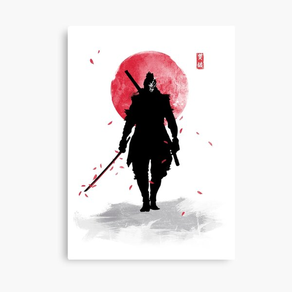 One Armed Wolf Canvas Print
