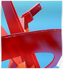 Buy This Sculpture--It's A Steel Poster