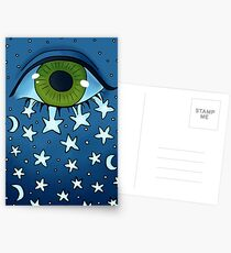 Stars In Your Eyes Postcards