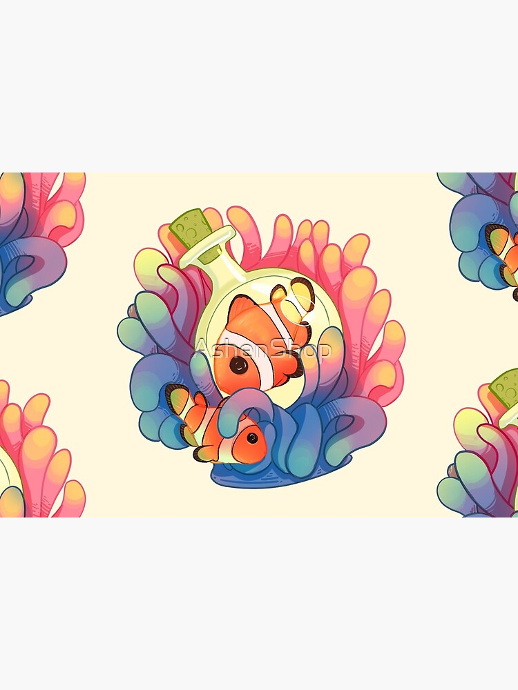C is for Clownfish by AshenShop