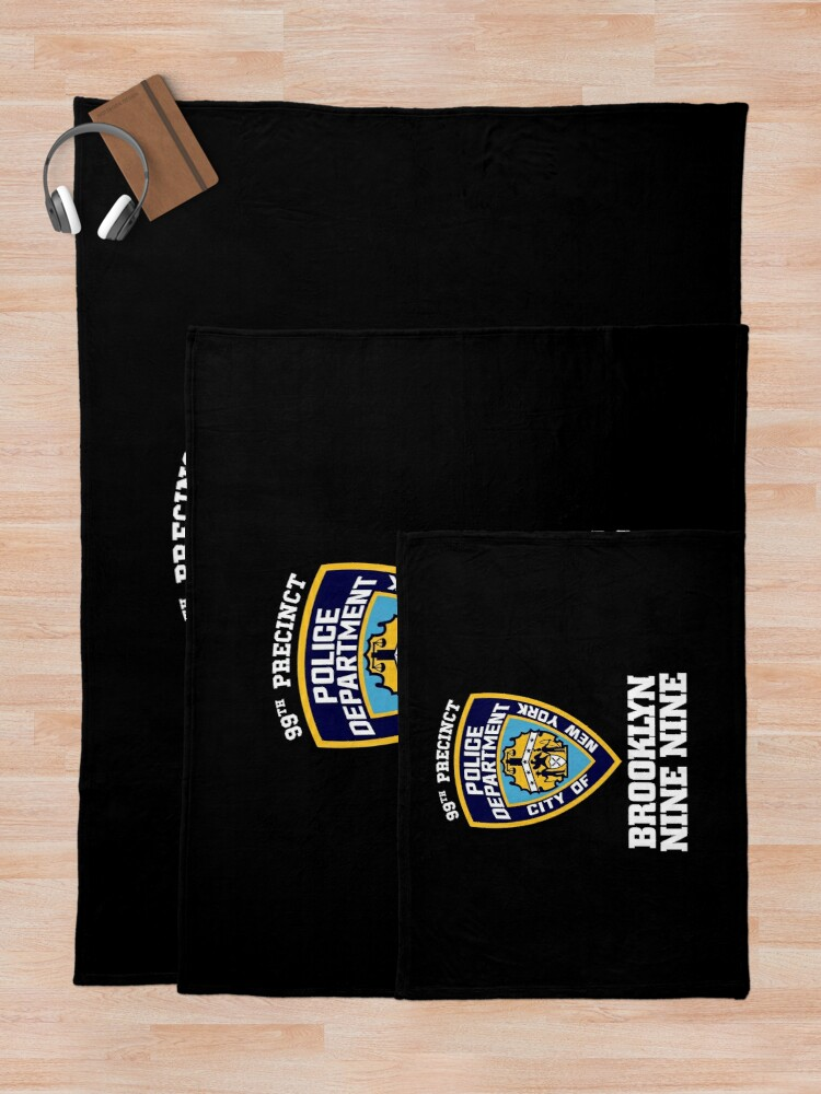 Alternate view of 99th Precinct - Inspired by Brooklyn 99 Throw Blanket