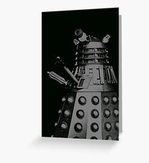 darlek mono moody Greeting Card