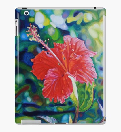 Tropical Hibiscus iPad Case/Skin