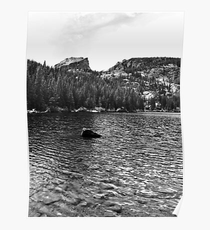 Flattop Mountain and Bear Lake Poster