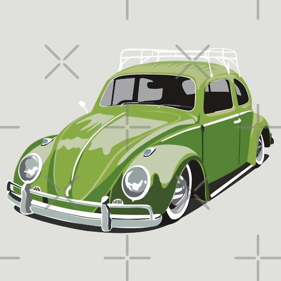 TShirtGifter presents: Green Beetle