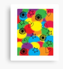 Hearts and Thoughts Canvas Print