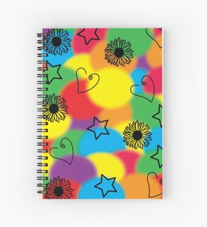 Hearts and Thoughts Spiral Notebook