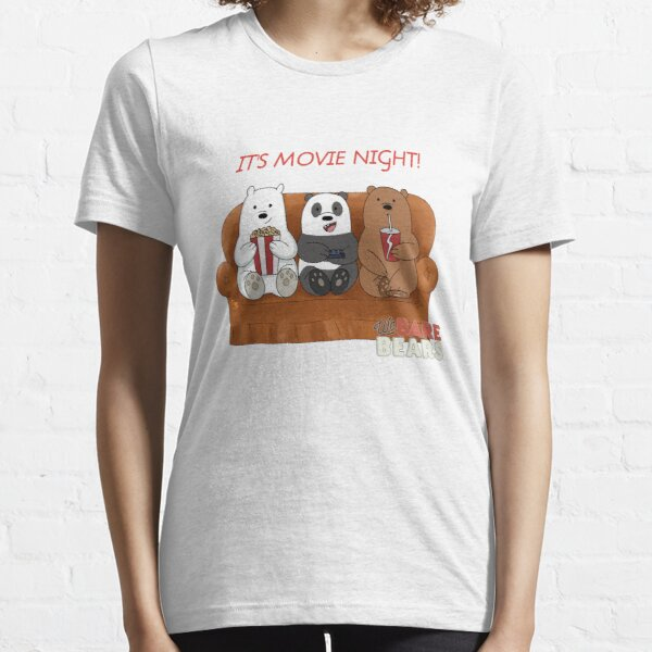 We Bare Bears Movie Night Essential T-Shirt