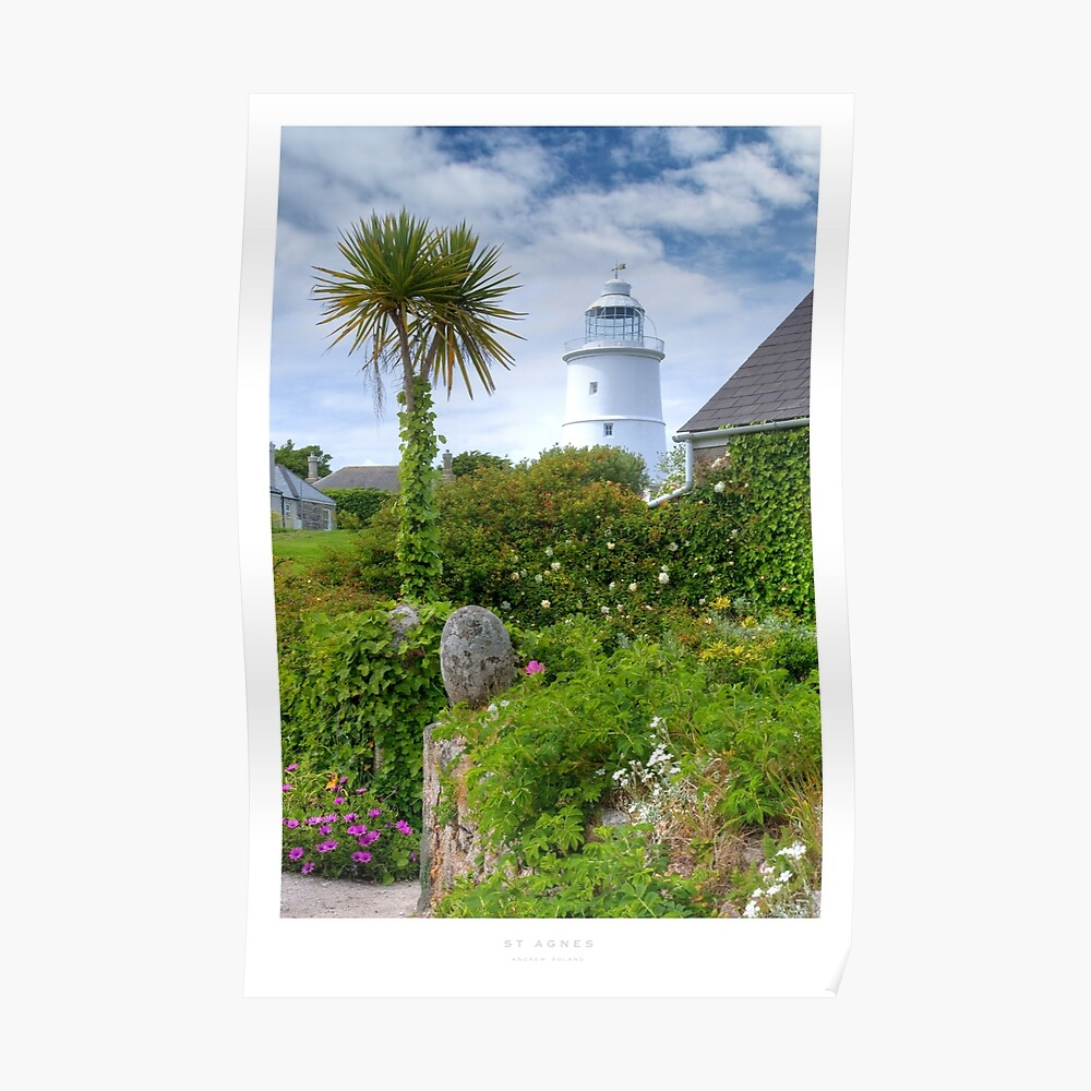St Agnes, Isles of Scilly Poster