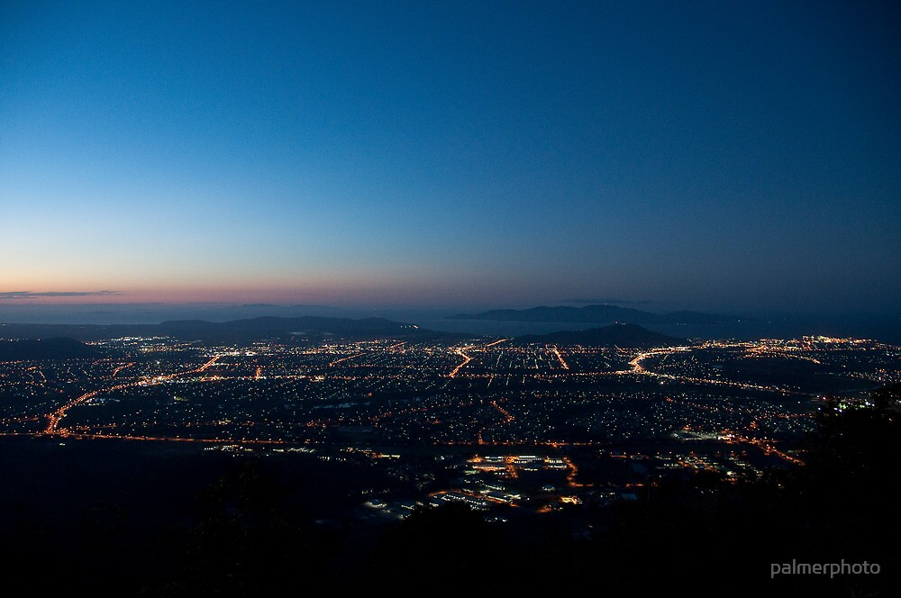 Mount Stuart at Night by palmerphoto