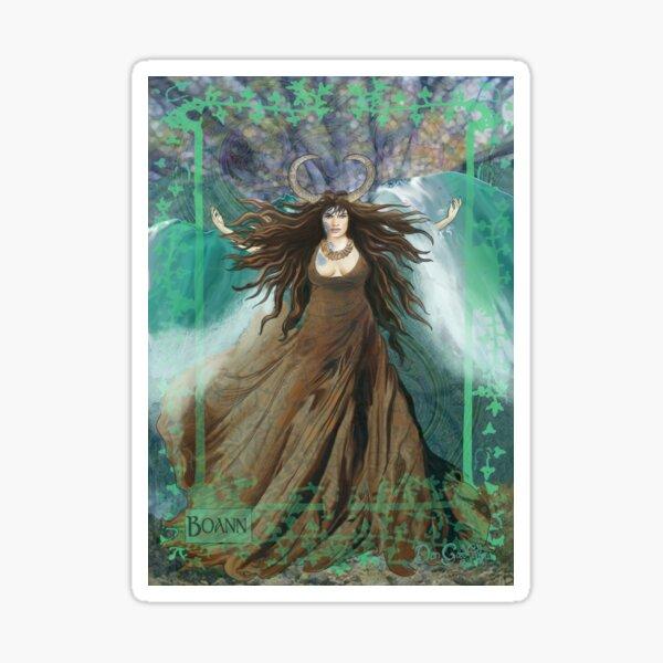 Celtic Goddess - Boann Sticker