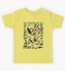 Birds of Australia 1 Kids Tee