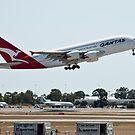 Qantas A380 by palmerphoto
