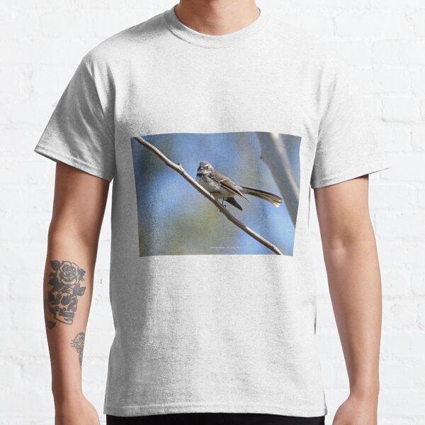 Grey Fantail (017) Classic T-Shirt