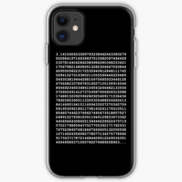 PI White iPhone Soft Case
