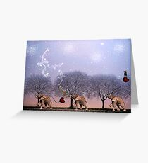 One Foot In Front Of The Other... Greeting Card