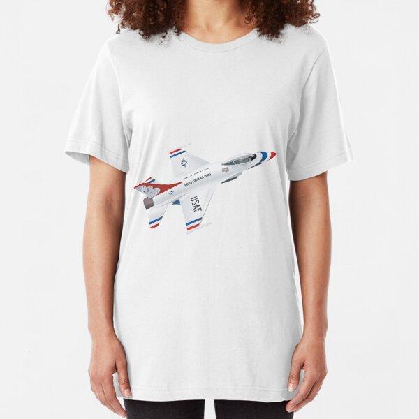 F-16: Thunderbirds Slim Fit T-Shirt