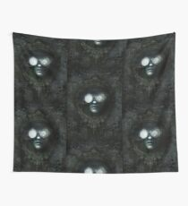 Lost Steampunk Mirror Wall Tapestry