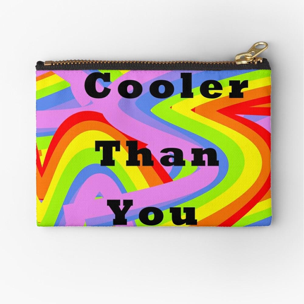 Cooler than you Zipper Pouch