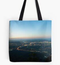 Mount Stuart Panorama Tote Bag