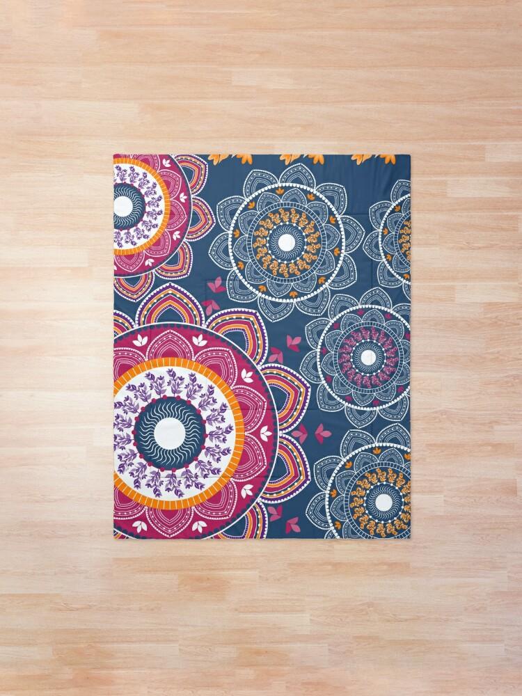 Alternate view of Joyful Mandala Comforter