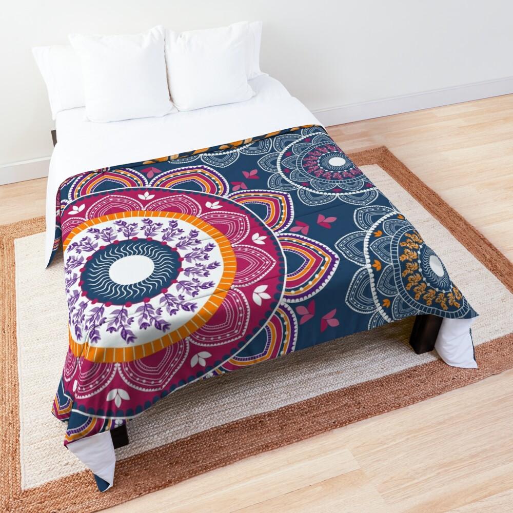 Joyful Mandala Comforter