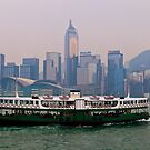 Star Ferry, Hong Kong by Terry Mooney