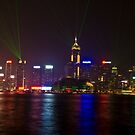 The Symphony of Lights, Hong Kong. by Terry Mooney