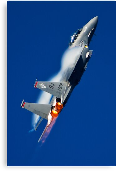 F-15E Strike Eagle by Jim Butera