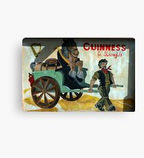 strong stuff this Guiness Canvas Print
